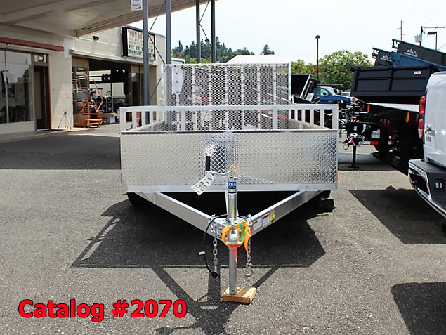 2070.B. New Snake River EZ Hauler aluminum utility trailer from Town and Country Commercial Truck and Trailer Sales, Kent (Seattle), WA