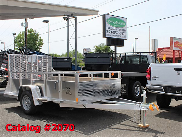 2070.A. New Snake River EZ Hauler aluminum utility trailer from Town and Country Commercial Truck and Trailer Sales, Kent (Seattle), WA