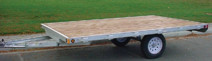 2081.A. Snake River Aluminum Sport Utility Trailers from Town and Country Truck and Trailer, Kent (Seattle) WA