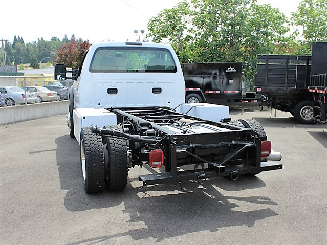 6020.F. 2008 FORD F450 SUPERDUTY Cab Chassis from Town and Country Commercial Truck and Trailer Sales, Kent (Seattle), WA
