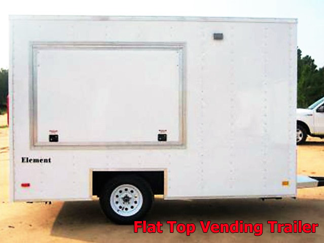 VFT.B. Vending trailers from Town and Country Truck and Trailer, Kent (Seattle) WA, selling utility trailers, dump trailers, equipment trailers, flatbed trailers, vending trailers, construction trailers, office trailers and gooseneck trailers