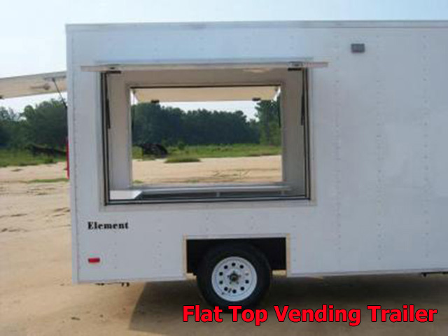 VFT.F. Vending trailers from Town and Country Truck and Trailer, Kent (Seattle) WA, selling utility trailers, dump trailers, equipment trailers, flatbed trailers, vending trailers, construction trailers, office trailers and gooseneck trailers