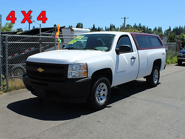 2012 CHEVROLET K1500 4x4 Long Box Pickup Truck from Town and Country Commercial Truck and Trailer Sales, Kent (Seattle), WA