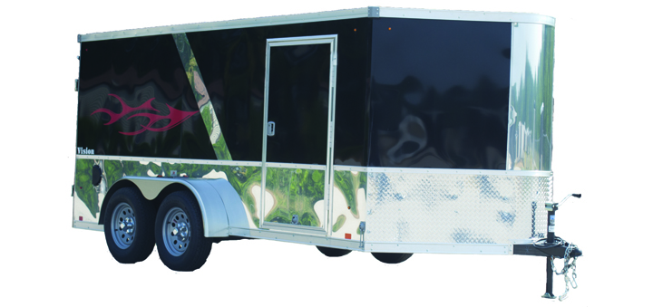 23A. Look Vision Motorcycle Trailer from Town and Country Truck and Trailer, Kent (Seattle) WA
