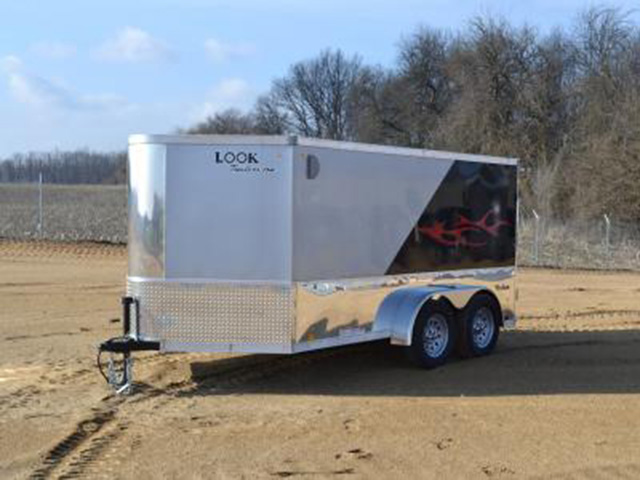 23F. Look Vision Motorcycle Trailer from Town and Country Truck and Trailer, Kent (Seattle) WA