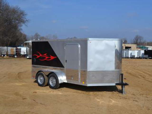 23H. Look Vision Motorcycle Trailer from Town and Country Truck and Trailer, Kent (Seattle) WA