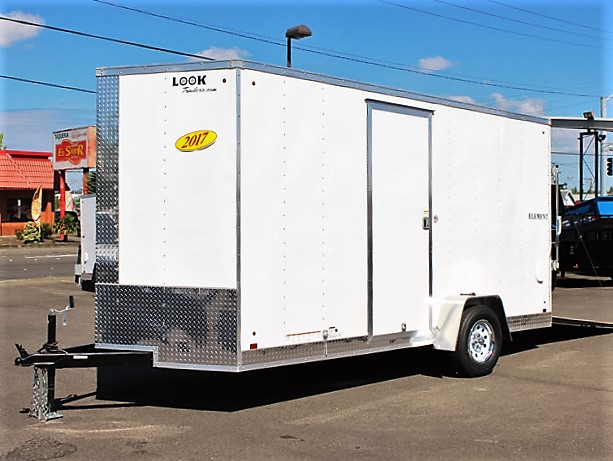 E1. Look Element cargo trailer from Town and Country Truck and Trailer, Kent (Seattle) WA