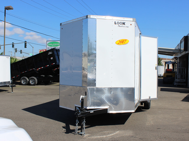 E3. Look Element cargo trailer from Town and Country Truck and Trailer, Kent (Seattle) WA