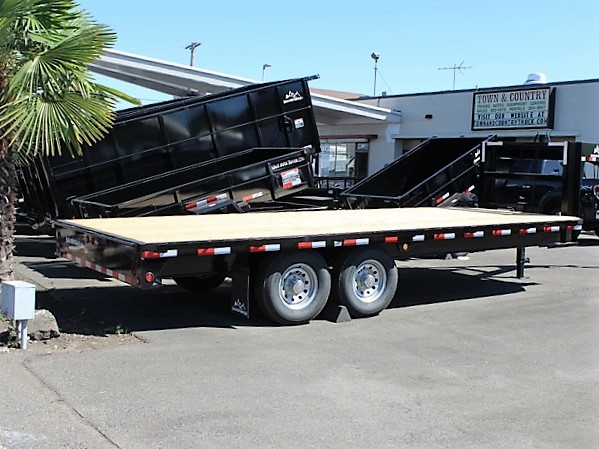 GN1. Snake River gooseneck trailers from Town and Country Truck and Trailer, Kent (Seattle) WA