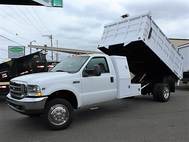 6028.A. 2004 Ford F450 Super Duty 12 ft. Landscape Truck Truck from Town and Country Commercial Truck and Trailer Sales, Kent (Seattle), WA