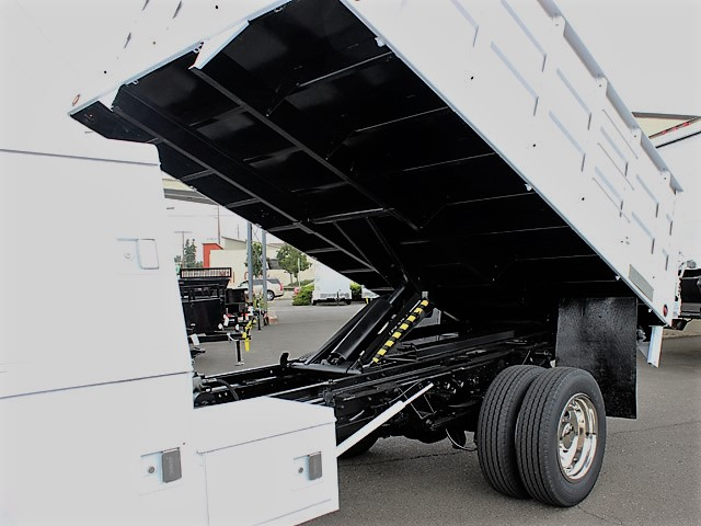 6028.G. 2004 FORD F450 Super Duty 12 Ft. Solid Steel Landscape Dump Truck from Town and Country Commercial Truck and Trailer Sales, Kent (Seattle), WA