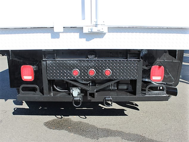 6064.J.  2008 Ford F350 2-3 yard Solid Side Dump Truck from Town and Country Commercial Truck and Trailer