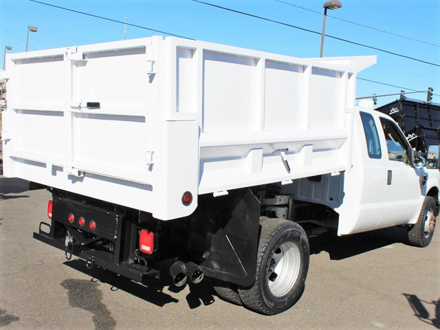 6064.L.  2008 Ford F350 2-3 yard Solid Side Dump Truck from Town and Country Commercial Truck and Trailer Sales, Kent (Seattle), WA