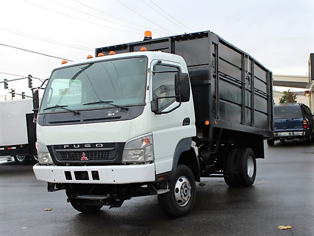 6029.B. 2006  MITSUBISHI FUSO FG140 12 Ft.  Solid Steel Dump Truck from Town and Country Commercial Truck and Trailer Sales, Kent (Seattle), WA
