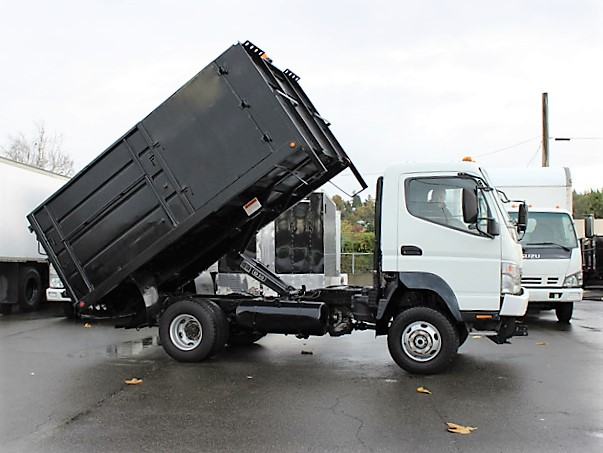 6029.D. 2006  MITSUBISHI FUSO FG140 12 Ft.  Solid Steel Dump Truck from Town and Country Commercial Truck and Trailer Sales, Kent (Seattle), WA
