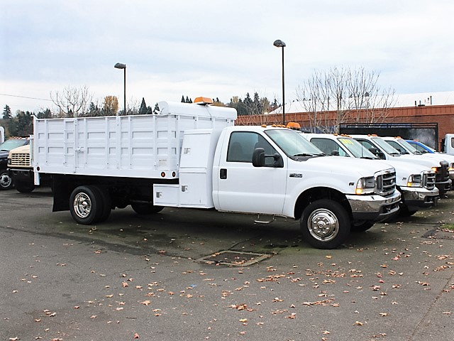 6091. 2006 Ford F450 Superduty 12 ft. landscape dump truck from Town and Country Truck and Trailer, Kent (Seattle) WA