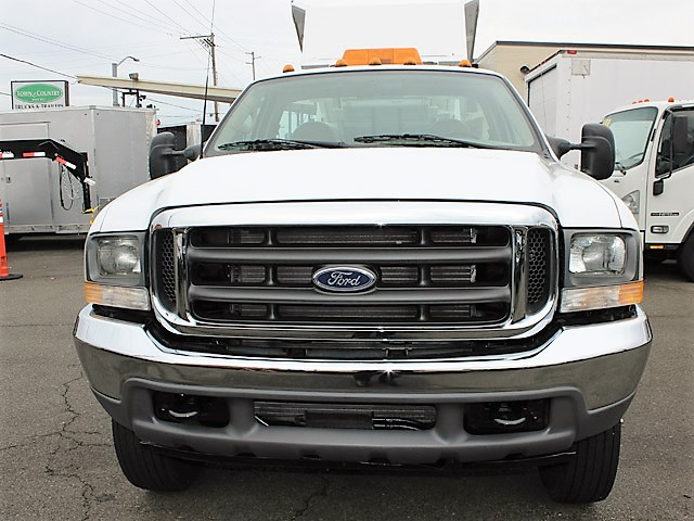 6092.B. 2002 FORD F450 Super duty 9 ft. Utility Dump Truck from Town and Country Commercial Truck and Trailer Sales, Kent (Seattle), WA