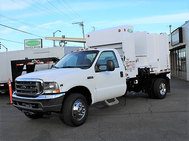 2006 FORD F450 Non-CDL Refuse Garbage Packer Truck with Container Lifts from Town and Country Commercial Truck and Trailer Sales, Kent (Seattle), WA