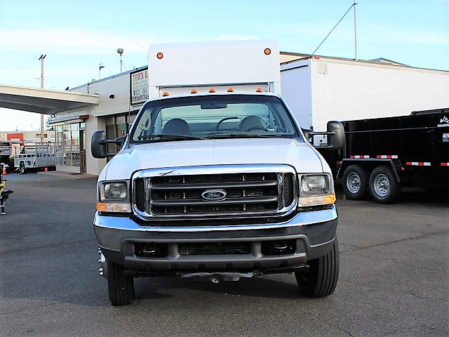6036.C. 2006 FORD F450 Non-CDL Refuse Garbage Packer Truck with Container Lifts from Town and Country Commercial Truck and Trailer Sales, Kent (Seattle), WA