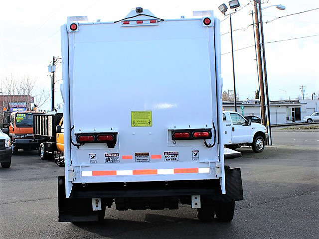 6036.J. 2006 FORD F450 Non-CDL Refuse Garbage Packer Truck with Container Lifts from Town and Country Commercial Truck and Trailer Sales, Kent (Seattle), WA