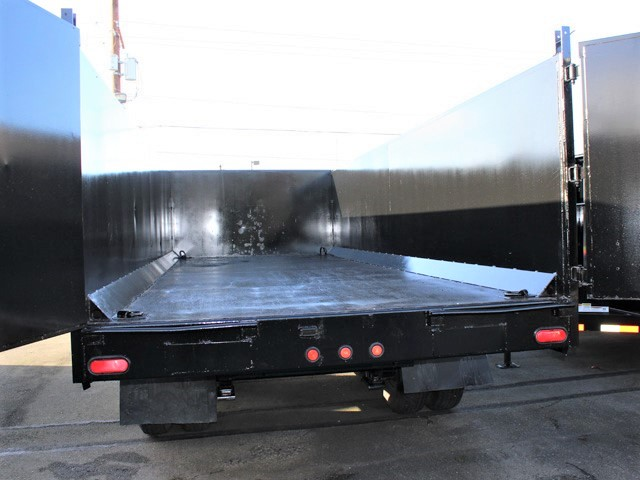 6090.L. 2006 C&B Gooseneck 20 ft. tall-sided dump trailer from Town and Country Commercial Truck and Trailer Sales, Kent (Seattle), WA