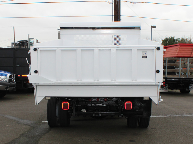 6091.H. 2006 FORD F450 SUPER DUTY 12 Ft. Landscape Style Dump Truck from Town and Country Commercial Truck and Trailer Sales, Kent (Seattle), WA