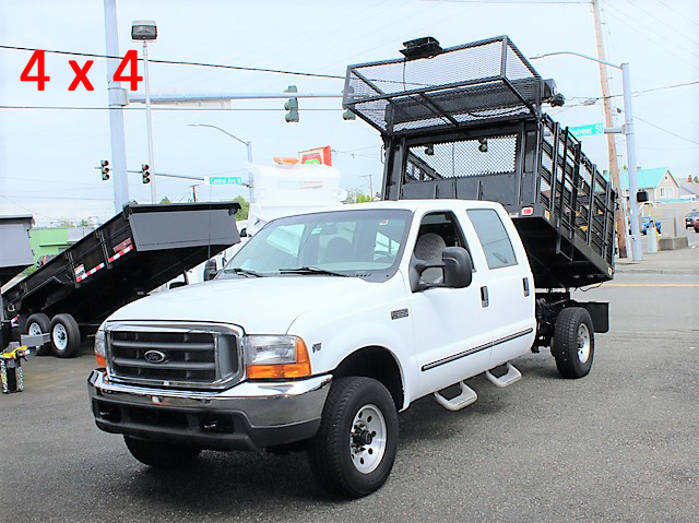1999 Ford F350 8 ft. landscape truck from Town and Country Commercial Truck and Trailer Sales, Kent (Seattle), WA