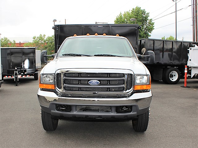6125.F. 2001 FORD F550 Super Duty flatbed dump truck from Town and Country Commercial Truck and Trailer Sales, Kent (Seattle), WA