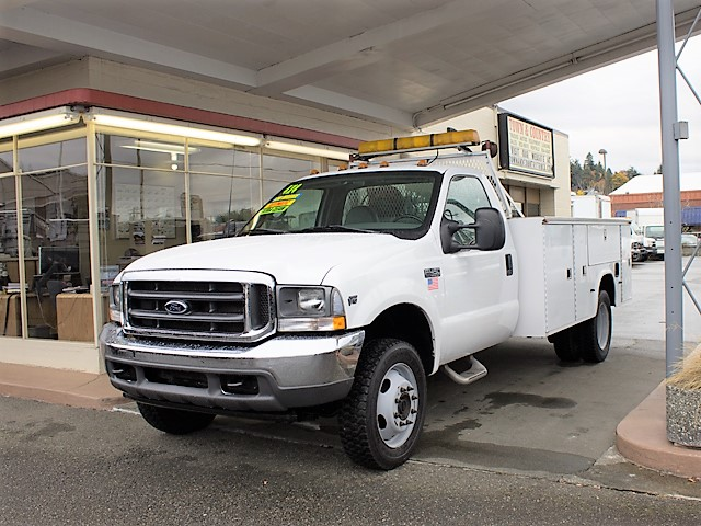 #6179: 2001 FORD F450 SUPER DUTY 11 ft. Service Utility Truck