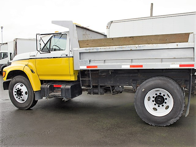 1995ES.B. 1995 FORD F750 10 ft. dump truck from Town and Country Commercial Truck and Trailer Sales, Kent (Seattle), WA