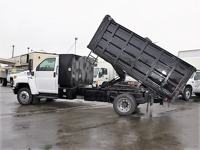 Non-CDL 2004 Chevrolet C4500 Kodiak 12 ft. landscape dump truck from Town and Country Commercial Truck and Trailer Sales, Kent (Seattle), WA