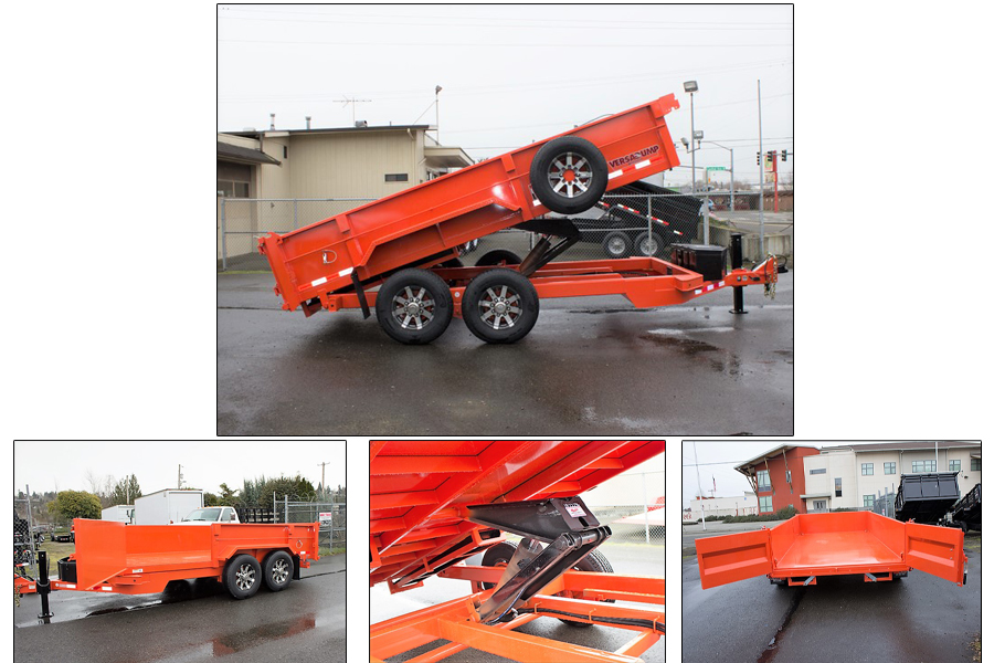 HV Dump Trailer from Town and Country Truck and Trailer Sales, Kent (Seattle) WA