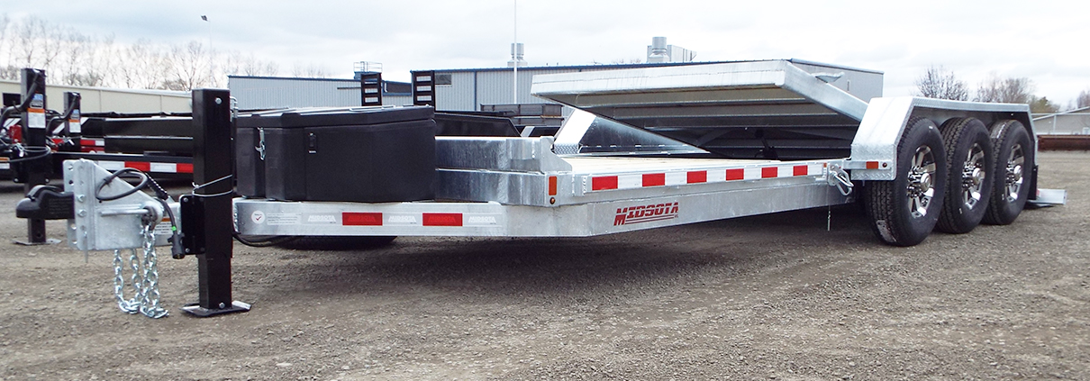 TB3. Midsota TB Series tilt bed trailers from Town and Country Commercial Truck and Trailer Sales, Kent (Seattle), WA