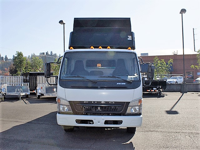 6288.B. 2008 Mitsubishi Fuso FE125 12 ft. dump truck from Town and Country Commercial Truck and Trailer Sales, Kent (Seattle), WA