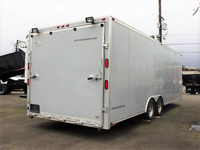 2002ALUM.C. 2002 CTA All Aluminum Auto Transport Trailer from Town and Country Commercial Truck and Trailer Sales, Kent (Seattle), WA.
