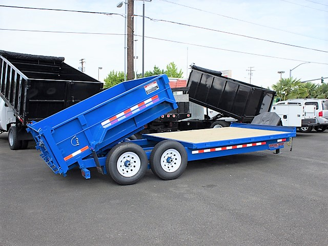 1. FFRD Flatbed forward rear dump trailer from Town and Country Commercial Truck and Trailer Sales, Kent (Seattle), WA.