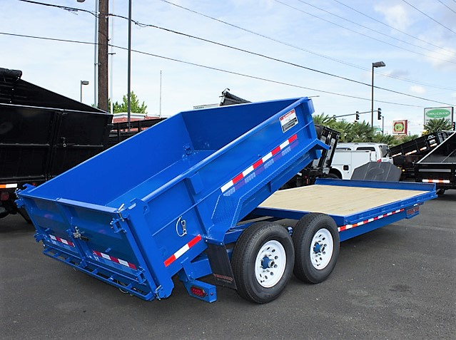 2. FFRD Flatbed forward rear dump trailer from Town and Country Commercial Truck and Trailer Sales, Kent (Seattle), WA.