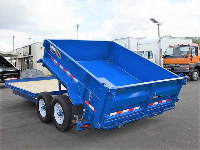 3. FFRD Flatbed forward rear dump trailer from Town and Country Commercial Truck and Trailer Sales, Kent (Seattle), WA.