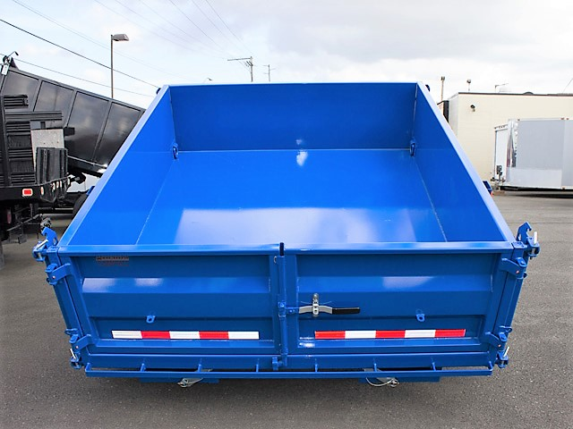 5. FFRD Flatbed forward rear dump trailer from Town and Country Commercial Truck and Trailer Sales, Kent (Seattle), WA.