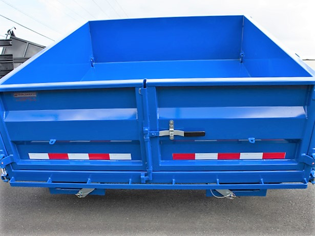 6. FFRD Flatbed forward rear dump trailer from Town and Country Commercial Truck and Trailer Sales, Kent (Seattle), WA.
