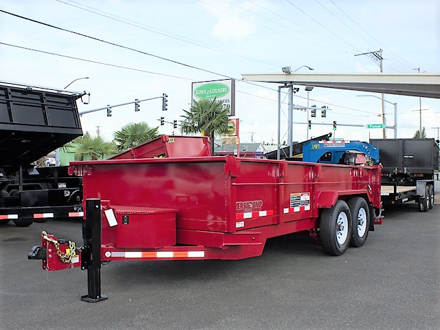 16. Other dump trailers from Town and Country Commercial Truck and Trailer Sales, Kent (Seattle), WA.