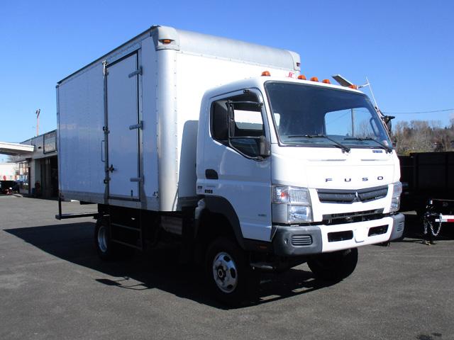 2013 MITSUBISHI FUSO FG 4X4 14 ft. Box Truck