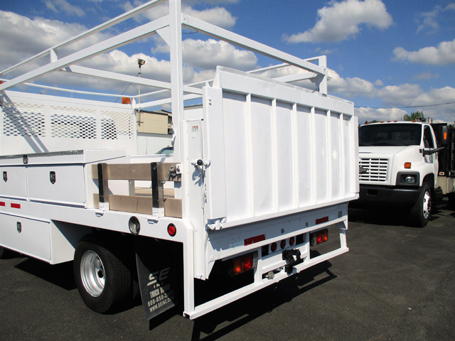 6452.G. 2007 Sterling Service Utility Flatbed Truck from Town and Country Truck and Trailer Sales, Kent (Seattle), WA.