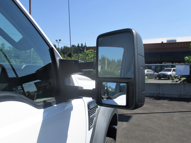 6462.M. 2008 Ford F550 12 ft. Flatbed Stakeside Truck from Town and Country Truck and Trailer Sales, Kent (Seattle), WA.
