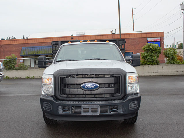 6514.C. 2011 Ford F350 Super Duty 12 ft. flatbed truck from Town and Country Truck and Trailer Sales, Kent (Seattle), WA.