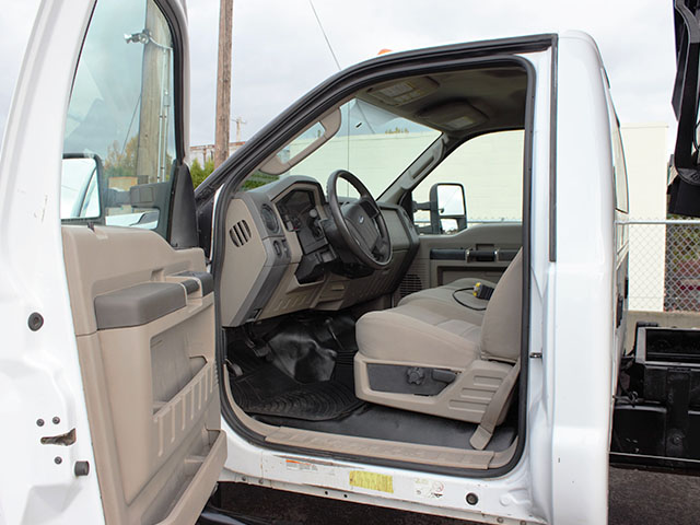 6522.M.  2008 Ford F550 Super Duty 4x4 12 ft. Dump Truck from Town and Country Truck and Trailer Sales, Kent (Seattle), WA.
