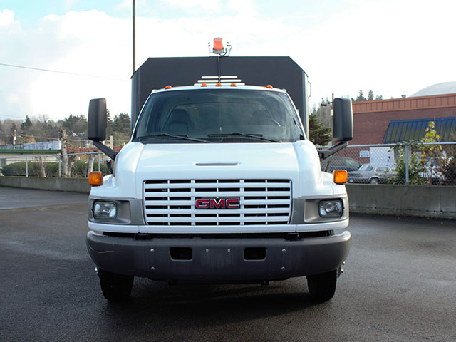 6525.C. 2005 Chevrolet Kodiak C5500 11 ft. Dump Truck from Town and Country Truck and Trailer Sales, Kent (Seattle), WA.