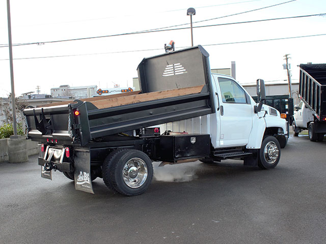 6525.G. 2005 Chevrolet Kodiak C5500 11 ft. Dump Truck from Town and Country Truck and Trailer Sales, Kent (Seattle), WA.
