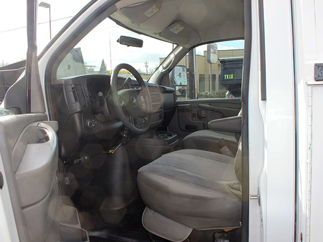 6526.X. 2008 CHEVROLET 3500 Covered Service Utility Van from Town and Country Truck and Trailer Sales, Kent (Seattle), WA.