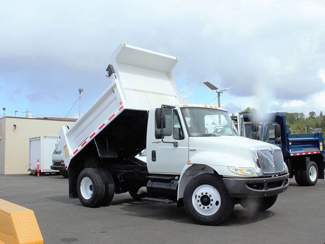 2008 International 4300 6-7 Yard Dump Truck from Town and Country Truck and Trailer Sales, Kent (Seattle), WA.